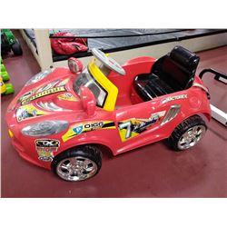 Kid's Battery Powered Car