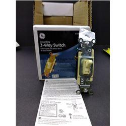 GE 3 Way Toggle Style Switch  $6.99