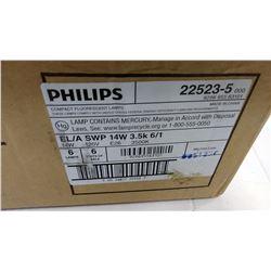 Philips  14 w 120 v / 3500 K