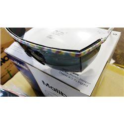 #13381 Malibu Smoke Lens Safety Glasses, Metal / Enamel Frame