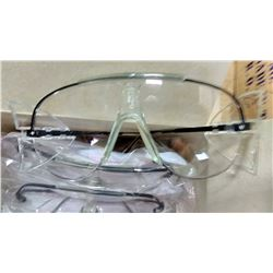 #22040 Safety Glasses, Black Metal Frame $29.99