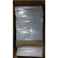 "9.5"" x 15"" Food Grade Bags, Clear, Blank/ Lot"