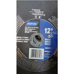 "12"" Norton Metal Cut Off Blades $39.00"