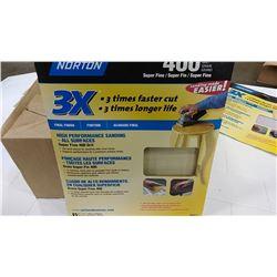 Norton 400 Grit Sand Paper  $8.99
