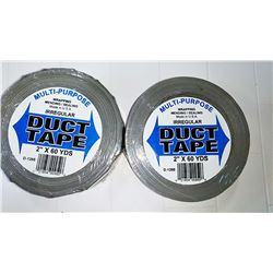 2 Inch X 60 Yard Duct Tape, Made In USA  $7.99