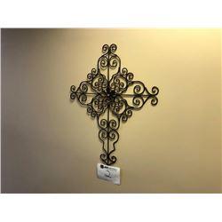 Cross wall décor