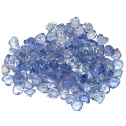 13.64 ctw Round Mixed Tanzanite Parcel
