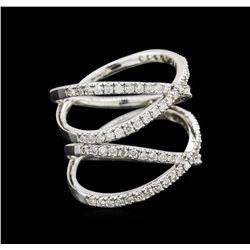 0.95 ctw Diamond Ring - 14KT White Gold