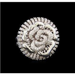 14KT White Gold 1.59 ctw Diamond Ring