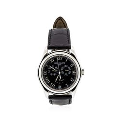 Patek Philippe 18KT White Gold Annual Calendar Automatic Wristwatch