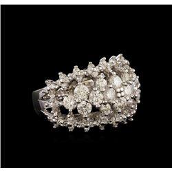 14KT White Gold 2.22 ctw Diamond Ring