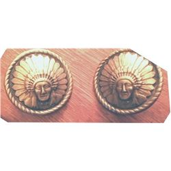 Indian head loop back conchos