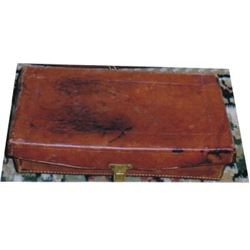 Hamley kit leather box