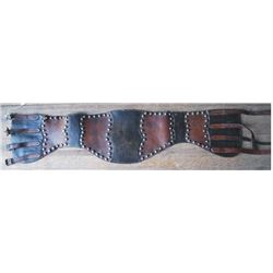 Furstnow 2 color spotted bronc belt