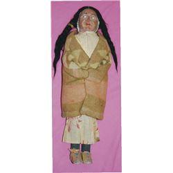 "Skookum doll, squaw 15"""