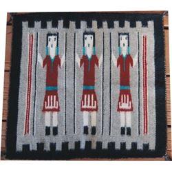 "small Navajo sampler 17"" x 17"""