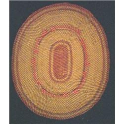Indian basket tray
