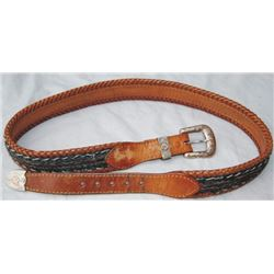 horse hair belt