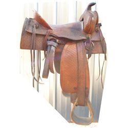 basket stamped 40-40's 8 string saddle