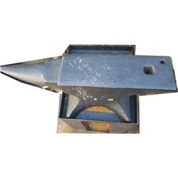 English anvil marked 186
