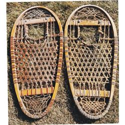 bear paw rawhide snow shoes