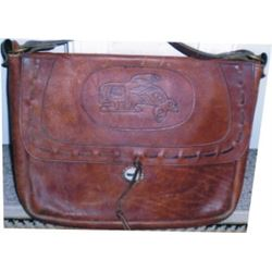 leather bag, purse or shoulder bag