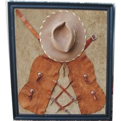 Roy Rogers display, Roy Rogers and Trigger hat