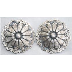 jello mold 2 inch silver conchos