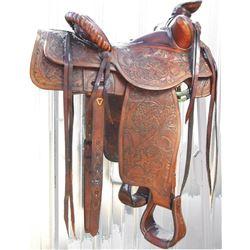 Severe Bros, Pendleton, full tooled saddle