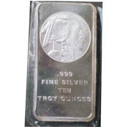 10 troy oz of silver