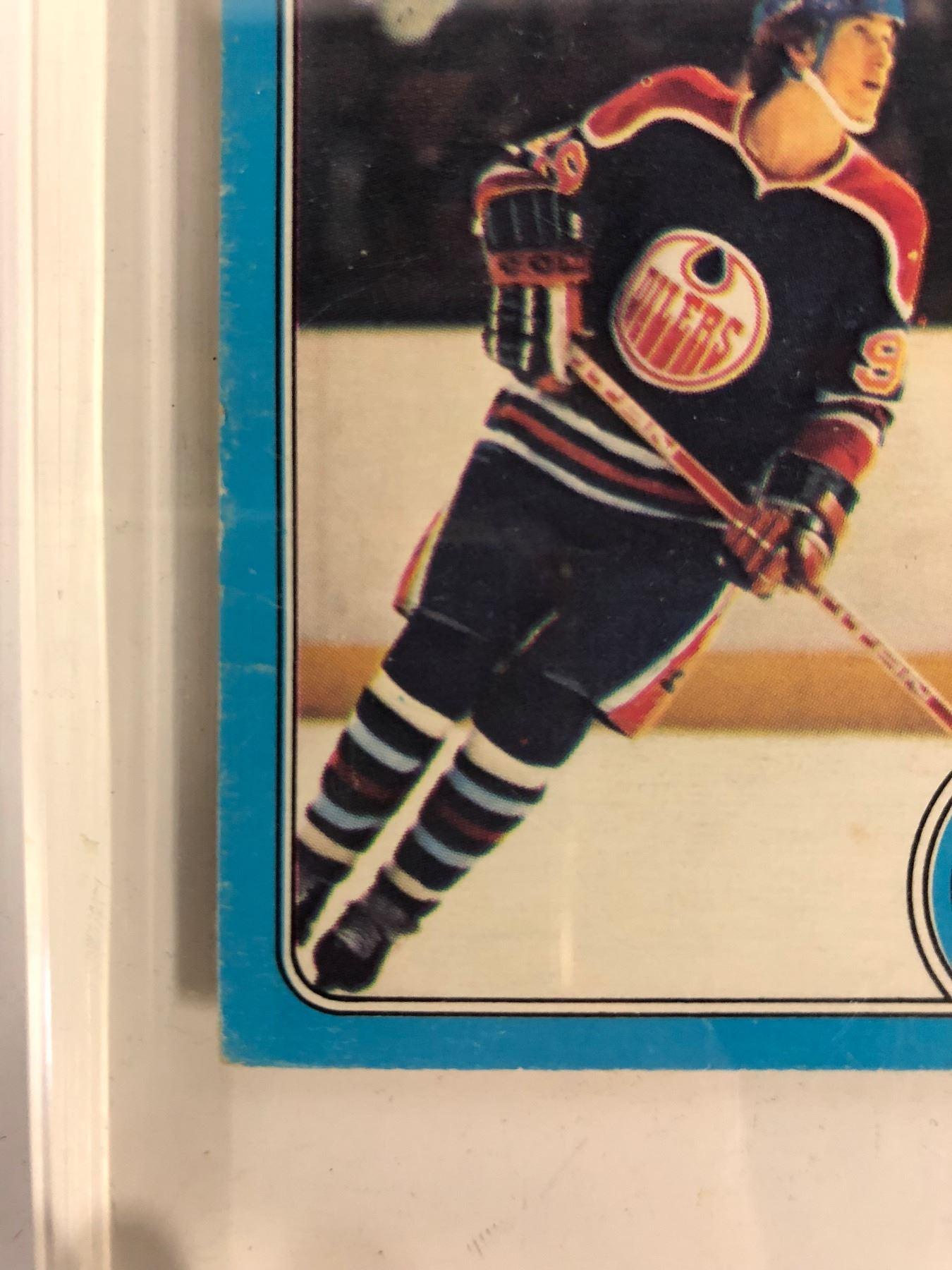 1979 80 O Pee Chee 18 Wayne Gretzky Rookie Card