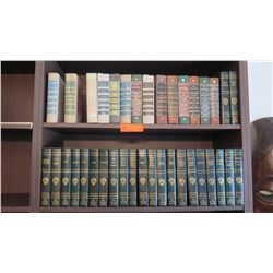 Collection of Hardbound Literary Classics: Readers Digest and Havard Classics