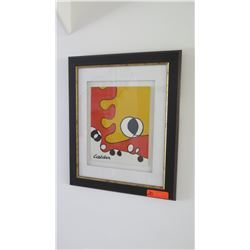 "Abstract Alexander Calder Print ""Derriere Le Miroir"" 20X24"