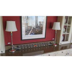 Pair: Buffet Table Lamps