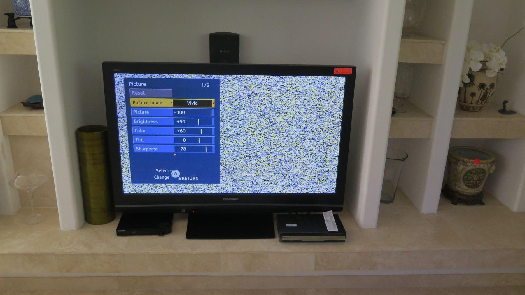 Panasonic TH-C50HD18 Plasma HD Flatscreen TV, Approx  48X31