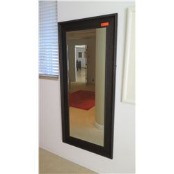 Dark Frame Large Mirror