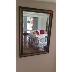 "Contemporary Framed Mirror, 29.5"" X 41.5"""