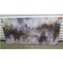 Abstract Canvas Painting, Artist Unknown, Stretched Canvas