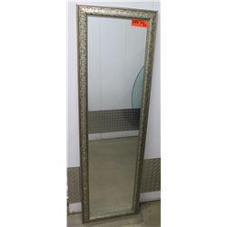 """Framed Full Length Mirror, 15"""" X 52"""""""