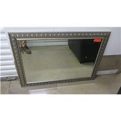 """Framed Mirror, 42"""" X 40"""""""