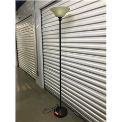 "Tall Torchier Floor Lamp, 71"" Tall"