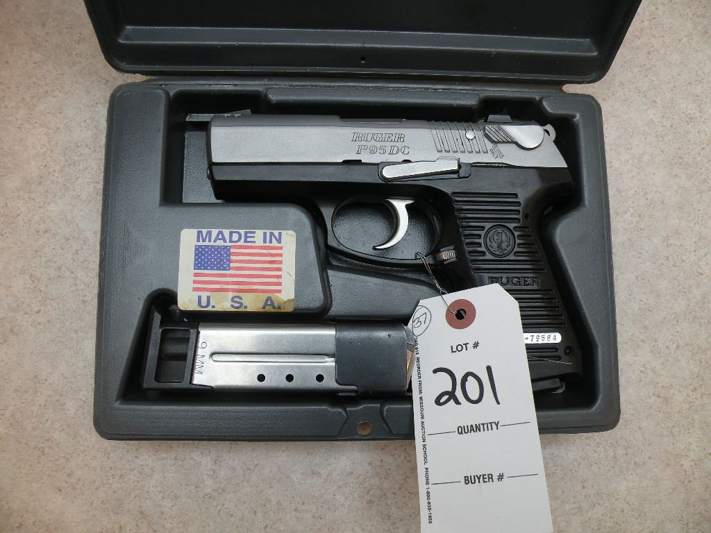 Ruger P95 DC, 9mm -PERMIT REQUIRED SN#-31379584