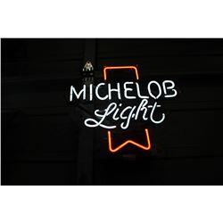 MICHELOB LITE NEON SIGN