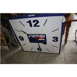 1960'S PEPSI ARENA CLOCK