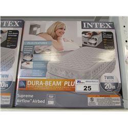INTEX DURA-BEAM PLUS TWIN SIZE AIR MATTRESS
