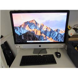 "27"" IMAC WITH 3.2 GHZ INTEL I5 PROCESSOR/8 GB DDR3 RAM/NVIDIA GEFORCE GT 755M 1GB VIDEO CARD"