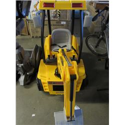 WONDERLANES 12V RIDE ON BACKHOE (BOXED / ASSEMBLY REQUIRED)