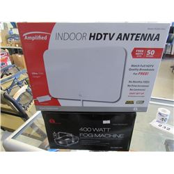 400W FOG MACHINE/INDOOR HDTV ANTENNA
