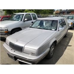 1993 CHRYSLER NEW YORKER FIFTH AVENUE, 4DR SDN, SILVER, VIN # 1C3XV66RXPD205342