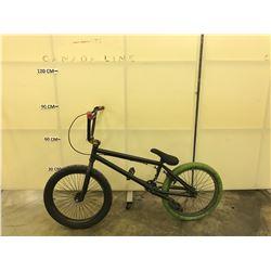 BLACK NO NAME BMX BIKE